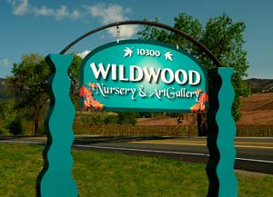 Wildwood Farm sign